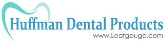 Leaf Gauge by Huffman Dental Logo